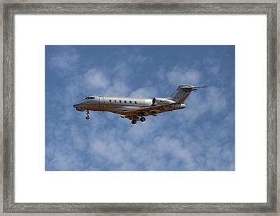 Vista Jet Bombardier Challenger 300 1 Framed Print