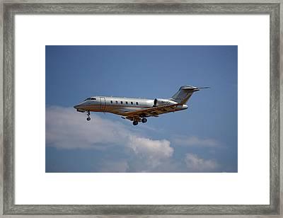 Vista Jet Bombardier Challenger 300 4 Framed Print