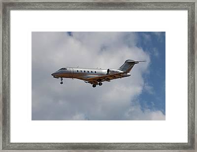Vista Jet Bombardier Challenger 300 5 Framed Print