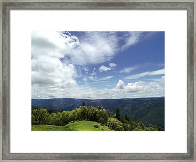 Framed Print featuring the photograph Vista Vision by John Norman Stewart