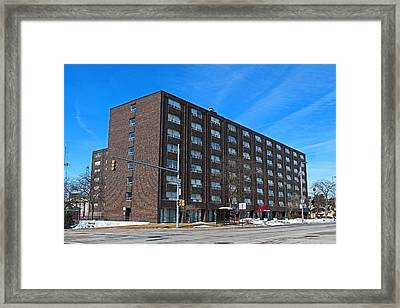 Framed Print featuring the photograph Vistula Manor by Michiale Schneider