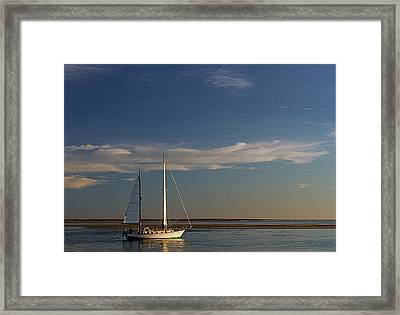 Visual Escape Framed Print