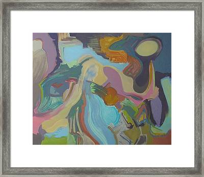 Visual Jazz #18 Framed Print by Philip Rader