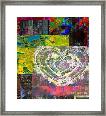 Visual Thoughts In Silent Narration Framed Print