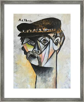 Vitae The Old Man  Framed Print by Mark M Mellon