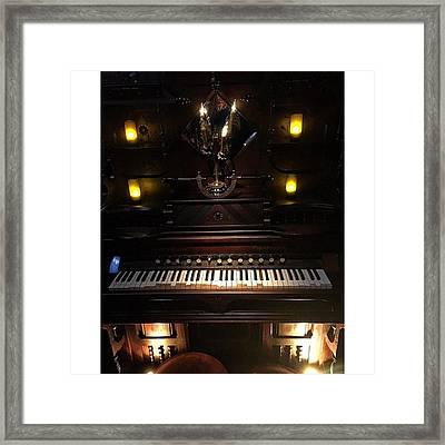 Vital Organ Framed Print