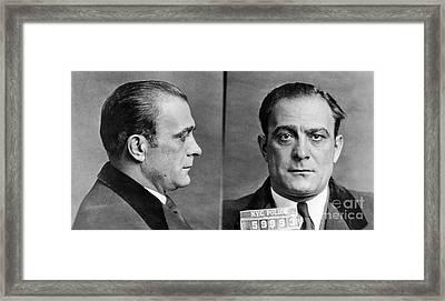 Vito Genovese (1897-1969) Framed Print by Granger