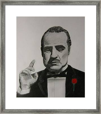 Vito Framed Print by James Bradley