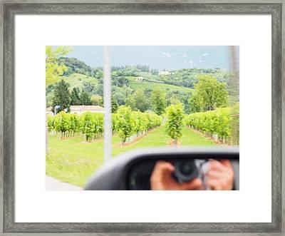 Vitoreo Veneto- Typical Backyard  Framed Print by Jason  Da Silva