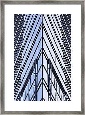 Vitreous Corner Framed Print by Heiko Koehrer-Wagner