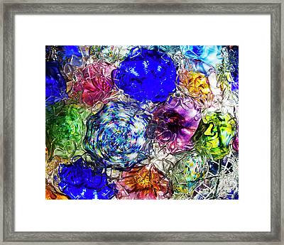 Vitreous Flora Framed Print