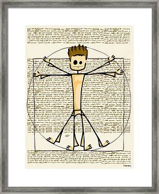 Vitruvius Framed Print by Giuseppe Lentini