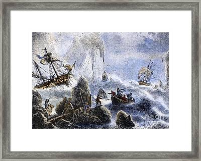 Vitus Jonassen Bering Framed Print by Granger