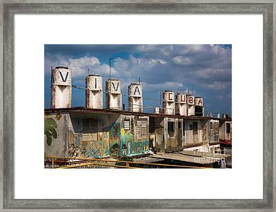 Viva Cuba Framed Print by Dan Hartford