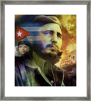 Viva Fidel Framed Print