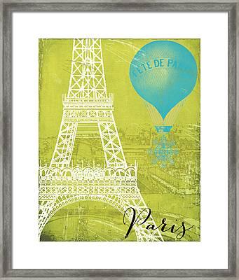 Viva La Paris Framed Print by Mindy Sommers