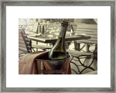 Viva Lamour Chill To Taste Framed Print by JAMART Photography