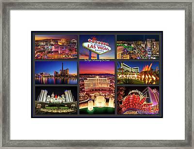 Viva Las Vegas Collection Framed Print