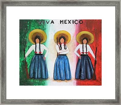 Viva Mexico Framed Print