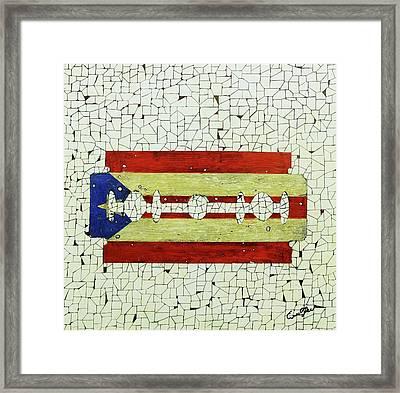 Viva Porto Rico Framed Print by Emil Bodourov