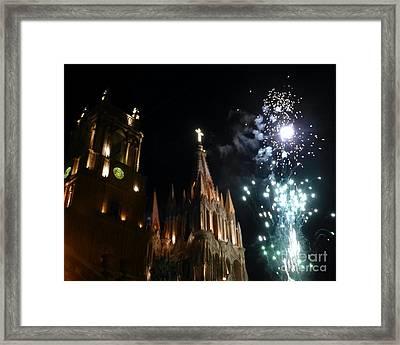 Viva San Miguel De Allende Framed Print by Barbie Corbett-Newmin