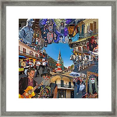 Vive Les French Quarter Framed Print by Steve Harrington