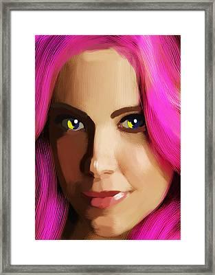Vivian Mayer New Portrait Framed Print by Maciej Mackiewicz