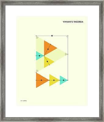 Viviani's Theorem Framed Print