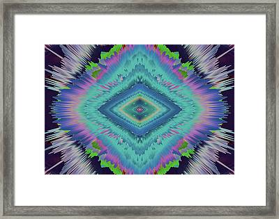 Exponential Flare 2 Framed Print