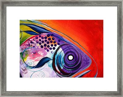 Vivid Fish Framed Print