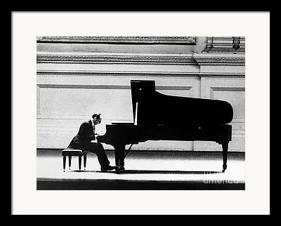 Piano Player Framed Prints