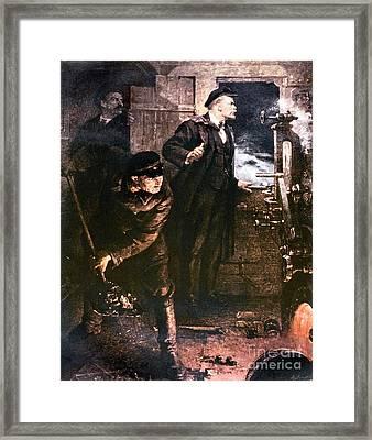 Vladimir Lenin Framed Print
