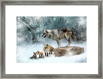 Vladimir Vanessa And The Vixens  Framed Print