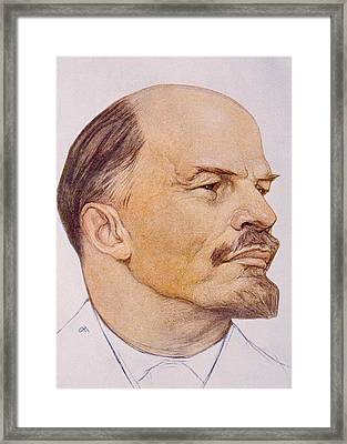 Vladimor Ilyich Aka Nicolei Lenin Framed Print