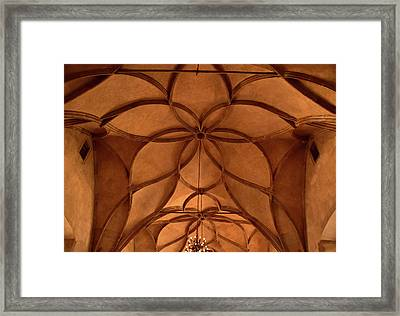Vladislav Hall Architectural Detail Framed Print