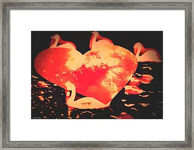 Vltava River-prague  Framed Print by Svetlana Zabelina