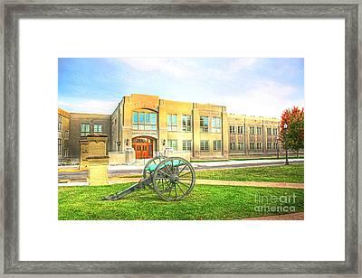 V M I  Mavry - Brooke Hall  Virginia Military Institute Framed Print by Dave Lynch