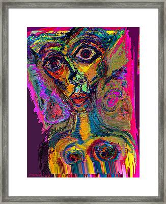 Vodoo Framed Print by Noredin Morgan