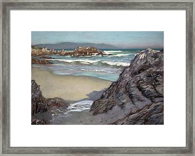 Voelklip Beach Framed Print by Christopher Reid