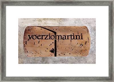Voerziomartini Framed Print