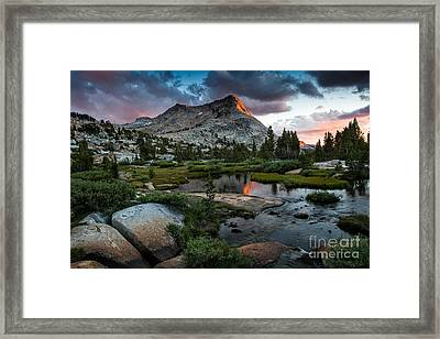 Vogelsang Peak Framed Print