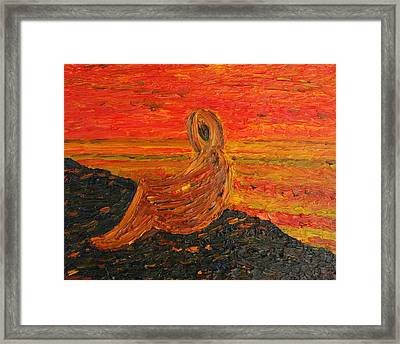 Voice Of The Sea Framed Print by Vadim Levin