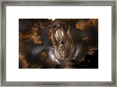Framed Print featuring the digital art Voice by Vadim Epstein