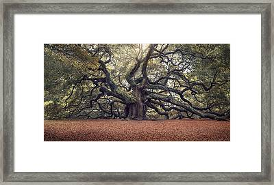 Voices Of The Angels Framed Print by Magda  Bognar