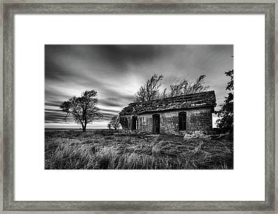 Void Framed Print by Thomas Zimmerman