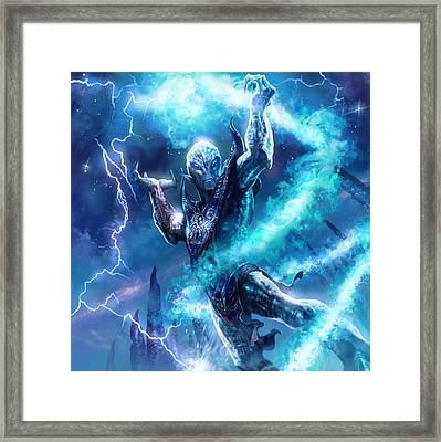 Voidman Sorcerer Framed Print