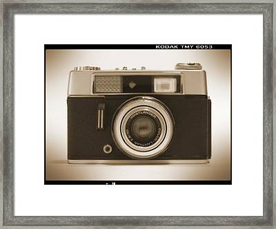 Voigtlander Rangefinder Camera Framed Print by Mike McGlothlen