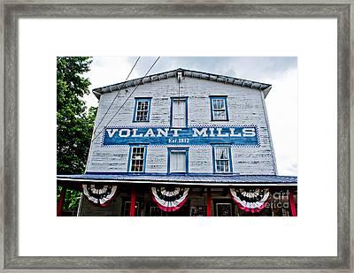 Volant Mills 1 Framed Print