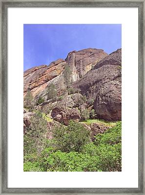 Framed Print featuring the photograph Volcanic Colors by Art Block Collections