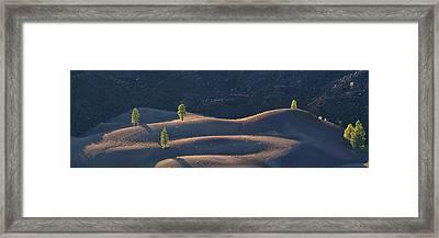 Volcanic Framed Print by Dustin LeFevre